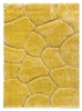 luxus-stones-shaggy-rug-yellow
