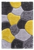 luxus-stones-shaggy-rug-yellow-grey