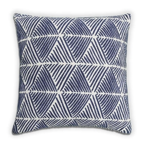 Palm Cushion - Navy