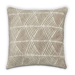 Palm Cushion - Taupe