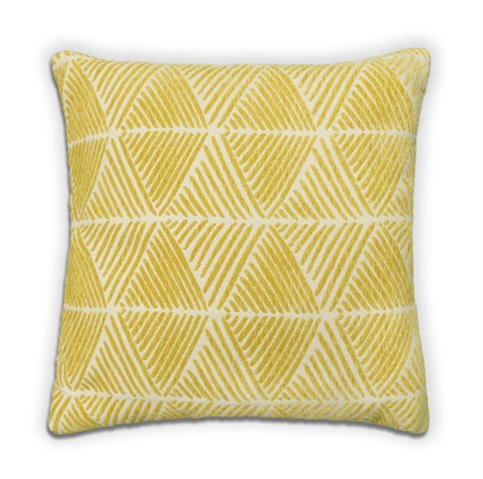 Palm Cushion - Yellow