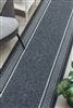 Promenade Kitchen Hall Runner Mat Grey