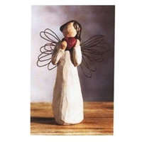 Willow Tree Small Angel of Heart Figurine (Retired)