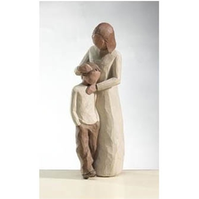Willow Tree Mother & Son Family Figurine