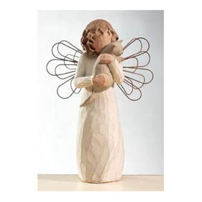 Willow Tree Angel With Affection Figurine