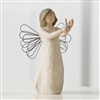Willow Tree Angel of Hope Figurine (with candle)