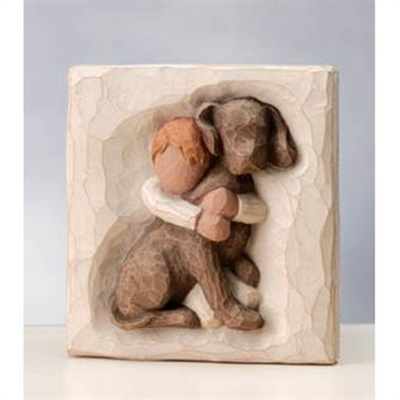 Willow Tree Hug Engraved Plaque