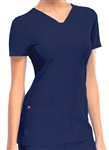 Heart Soul V-Neck Top #20710 Navy