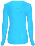 Cherokee Inifinity Long Sleeve Tee #2626A Turquoise