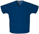 Cherokee Workwear V-Neck Top #4700 Navy
