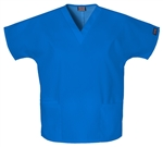 Cherokee Workwear V-Neck Top #4700 Royal