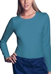 Cherokee Workwear Long Sleeve Tee #4818 Caribbean