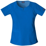 Cherokee Workwear Round Neck Top #4824 Royal