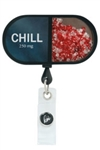 Koi Badge Reel- Chill Pill #A156
