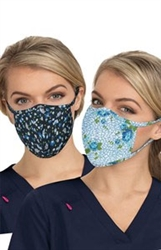Koi Reversible Fashion Mask 2pk- Floral Leopard