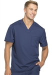 Men's Dickies Dynamix V-Neck Top #DK610 Navy