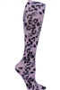 Knee High 12 mmHg Compression Sock in  Cheetah Spots