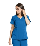 Grey's Anatomy Stretch Kim Top #GRST001 Royal