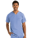Men's Grey's Anatomy Stretch Wesley 3 Pocket V-Neck Top #GRST009