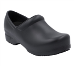Anywear Clog Slip Resistant Guardian Angel Black