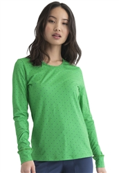 HeartSoul Underscrub Knit Tee #HS672 Kelly Green