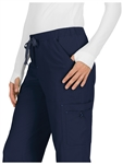 Koi Basics Holly Scrub Pant #731 Navy