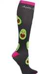"""Avo Cuddle"" Women's Print Support Sock PS AVCDL"