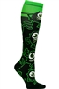 Women's Print Support Sock Believe in Monsters