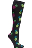 Women's Print Support Sock Pineapple Express