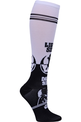 Women's Print Support Sock Come to the Dark Side