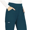 #WW110 Caribbean Blue Cherokee Revolution Pull-On Pant