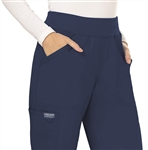 #WW110 Navy Cherokee Revolution Pull-On Pant