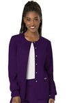 #WW310 Eggplant Cherokee Revolution Snap Jacket