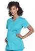 Cherokee Professional Maternity Mock Wrap Top #WW685