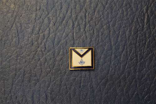 Blue Lodge Master Mason Apron Lapel Pin (PLU# 116)