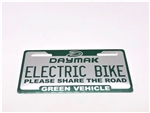 Daymak Ebike Plate (small) French
