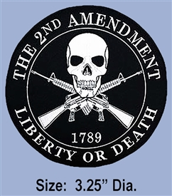 "2ND AMENDMENT ""RIGHT TO KEEP & BEAR ARMS"" PATCH"
