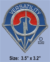 "14TH COMBAT AVIATION BATTALION ""VERSEATILITY""  PATCH"