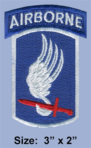 173RD AIRBORNE DIVISION COLOR PATCH