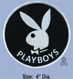 "334th AERIAL WEAPONS COMPANY - 1ST FLIGHT PLATOON GUNS ""PLAYBOY'S""  LIMITED EDITION POCKET PATCH"
