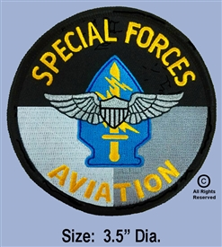 U.S. ARMY SPECIAL FORCES AVIATION PATCH