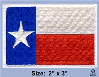 "TEXAS ""LONE STAR""  STATE FLAG PATCH"