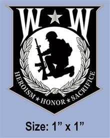 WOUNDED WARRIOR PROJECT PIN