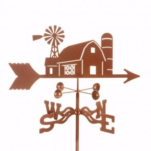 Barn Scene Weathervane
