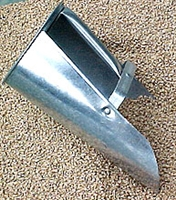 Metal Feed Scoop (Galvanized)