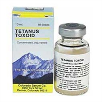 Colorado Serum Tetanus Toxoid - 2ND DAY SHIPPING REQUIRED