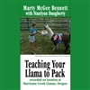 McGee Bennett DVD. Teaching Your Llama To Pack