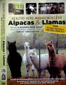 Healthy Herd Management for Alpacas & Llamas