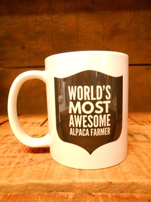 Most Awesome Alpaca Farmer Mug