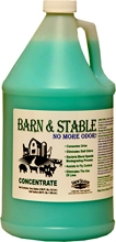 Barn & Stable Odor Eliminator Formerly Barn Fresh.- By the gallon, 1/2 gallon or case.
